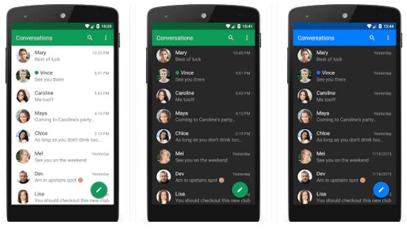 تطبيق الرسائل الافتراضي Android Messages