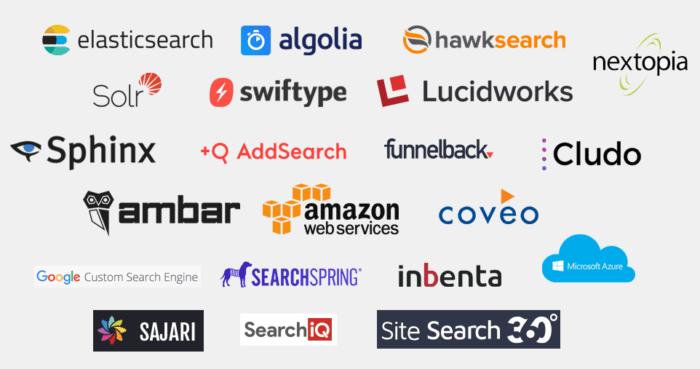 ادوات البحث الداخلي في الموقع