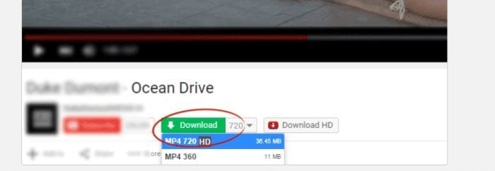 تحميل الفيديو من المواقع