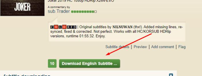 subtitles موقع