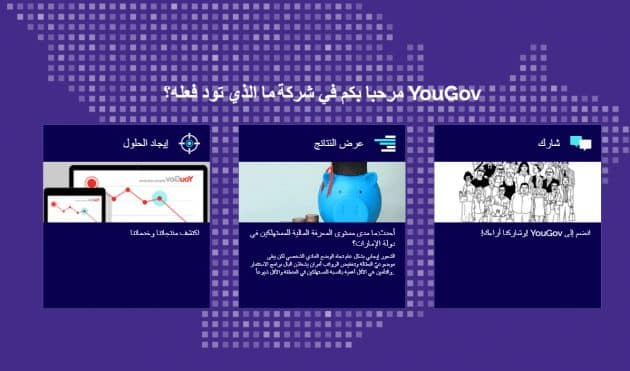 صورة مواقع الاستبيانات المدفوعة للدول العربية