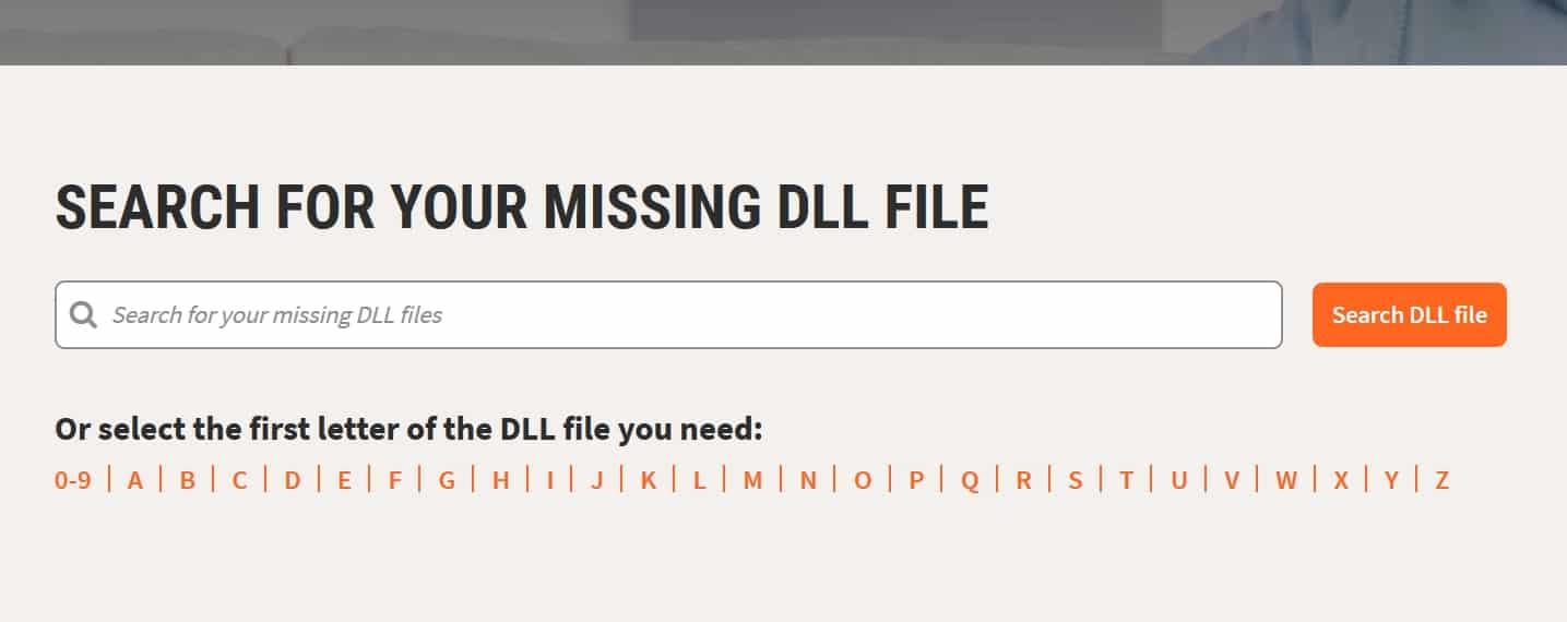 تحميل ملفات DLL
