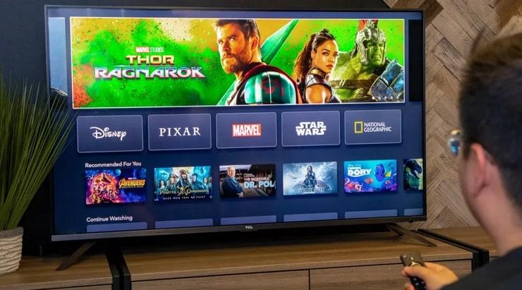 خدمة المشاهدة ديزني بلس Disney Plus