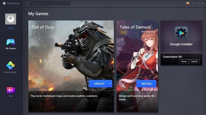 محاكي Gameloop