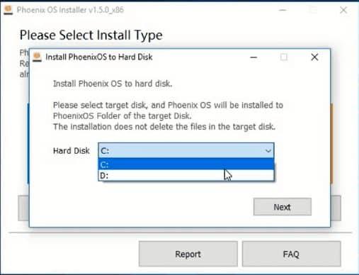 تحميل برنامج Phoenix OS