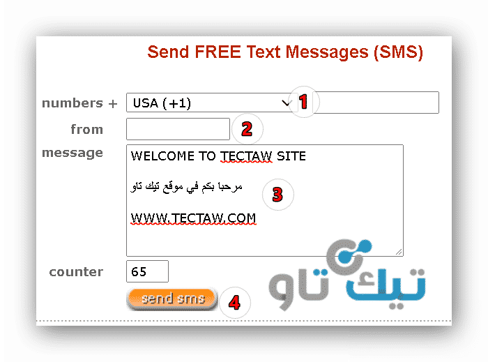Send Sms Now