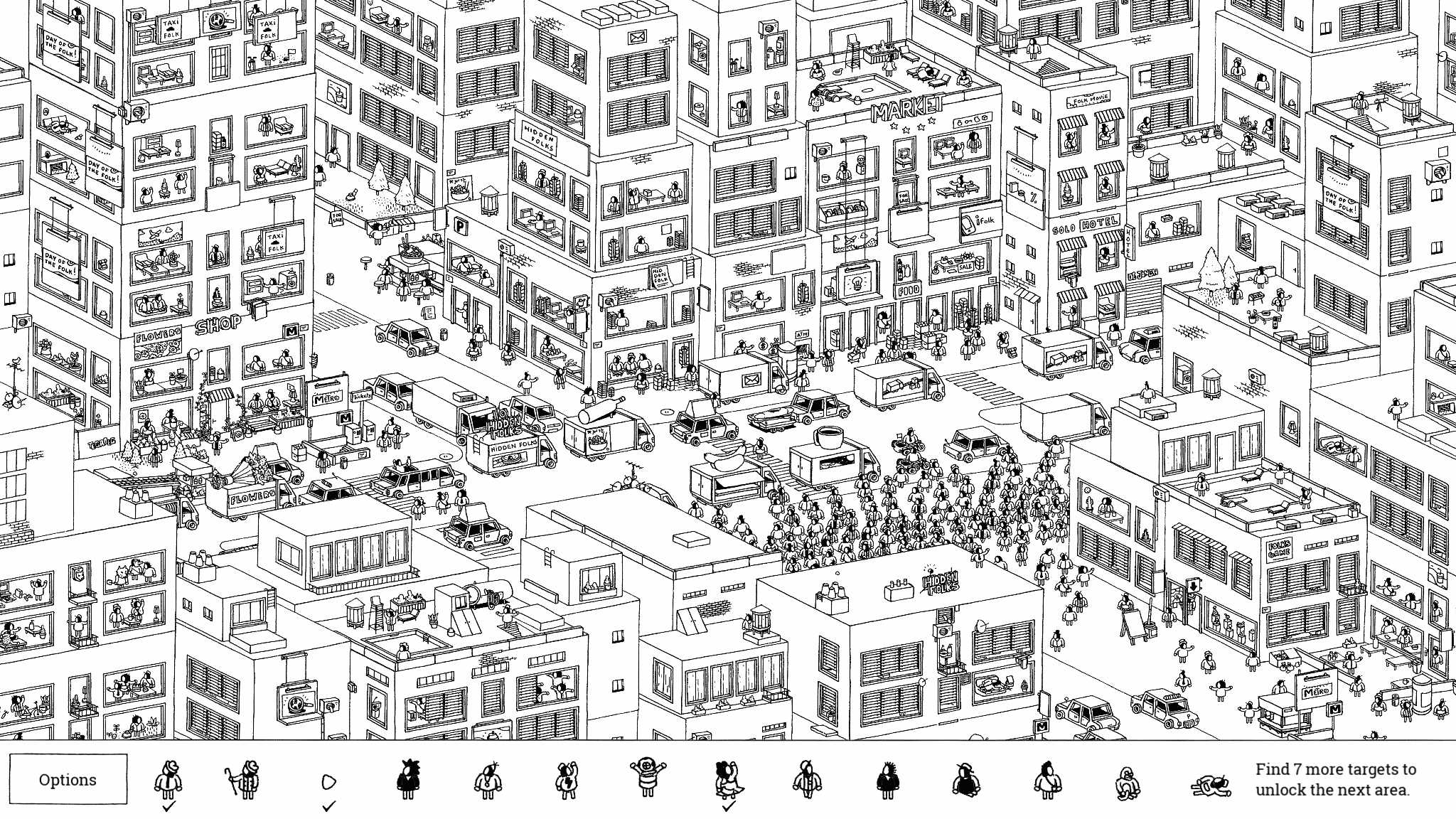 HiddenFolks v0.7 City