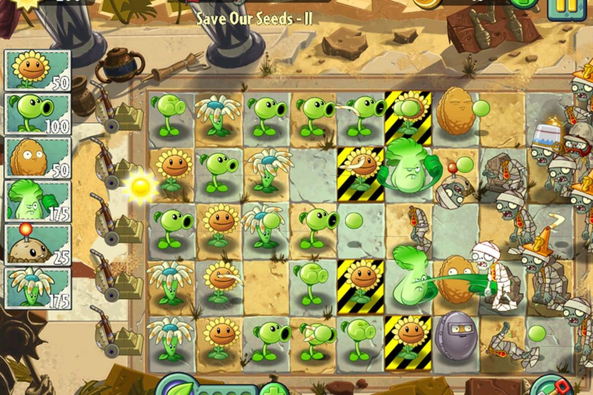 تحميل لعبة Plants vs Zombies 2 للايفون