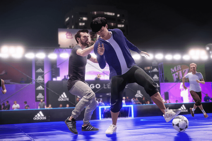 صور من داخل لعبة فيفا 2020