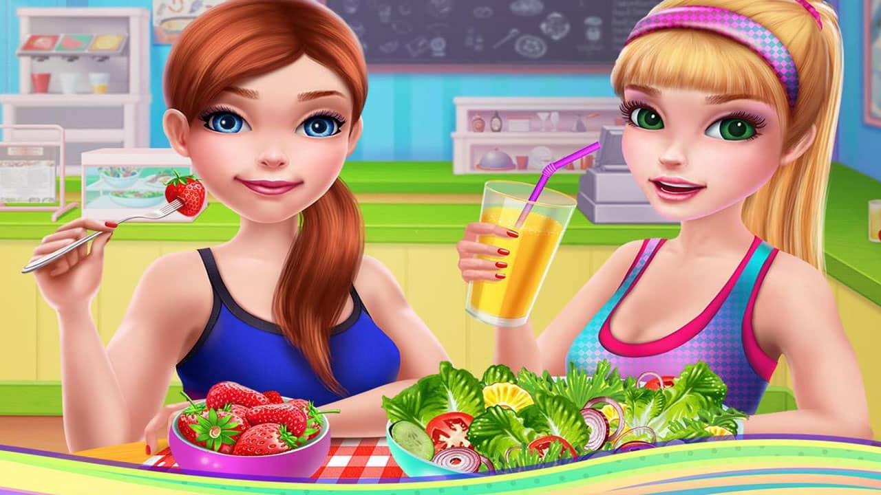 تحميل لعبة Fitness Girl للايباد