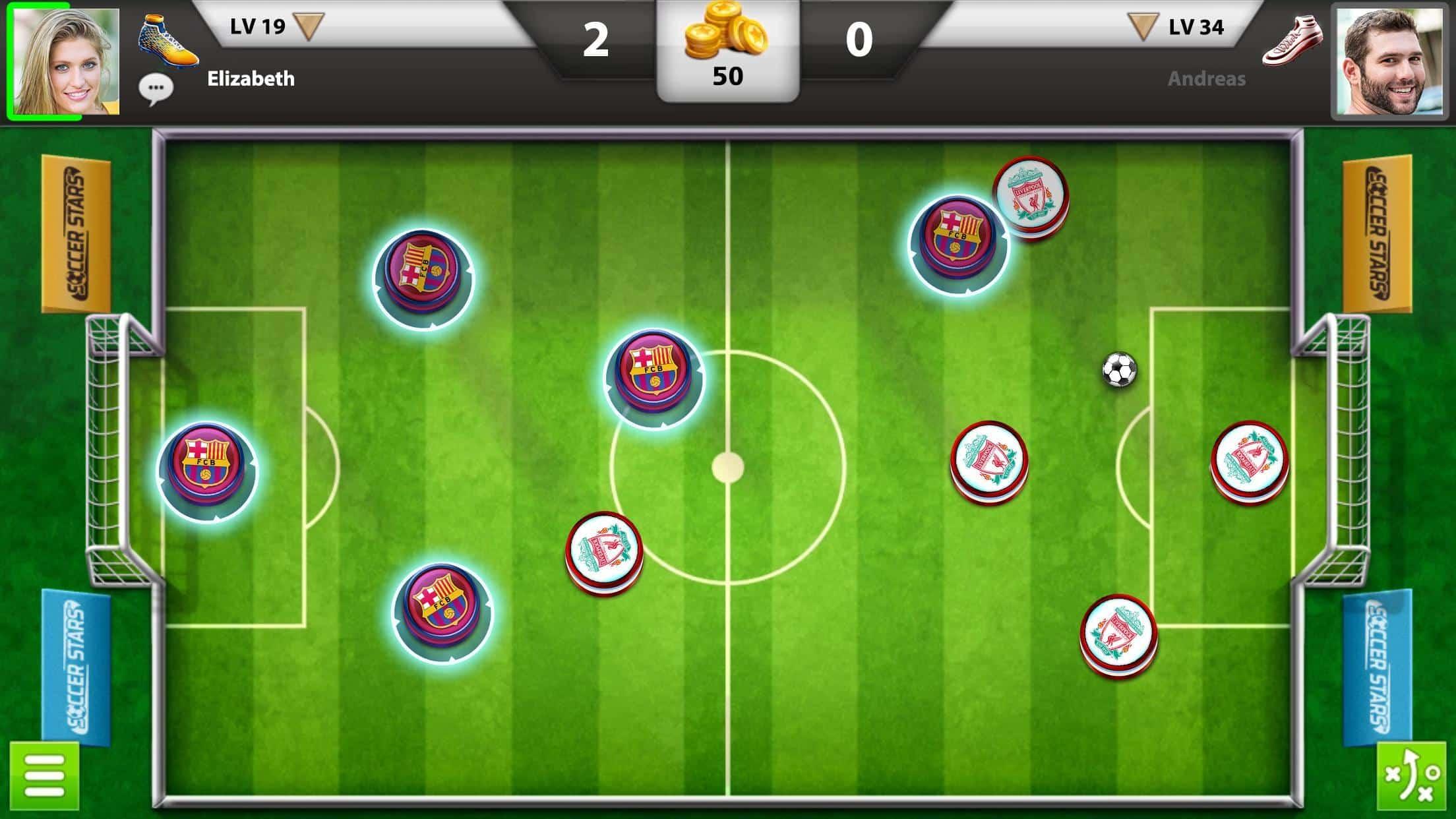 تحميل لعبة Soccer Star للاندرويد