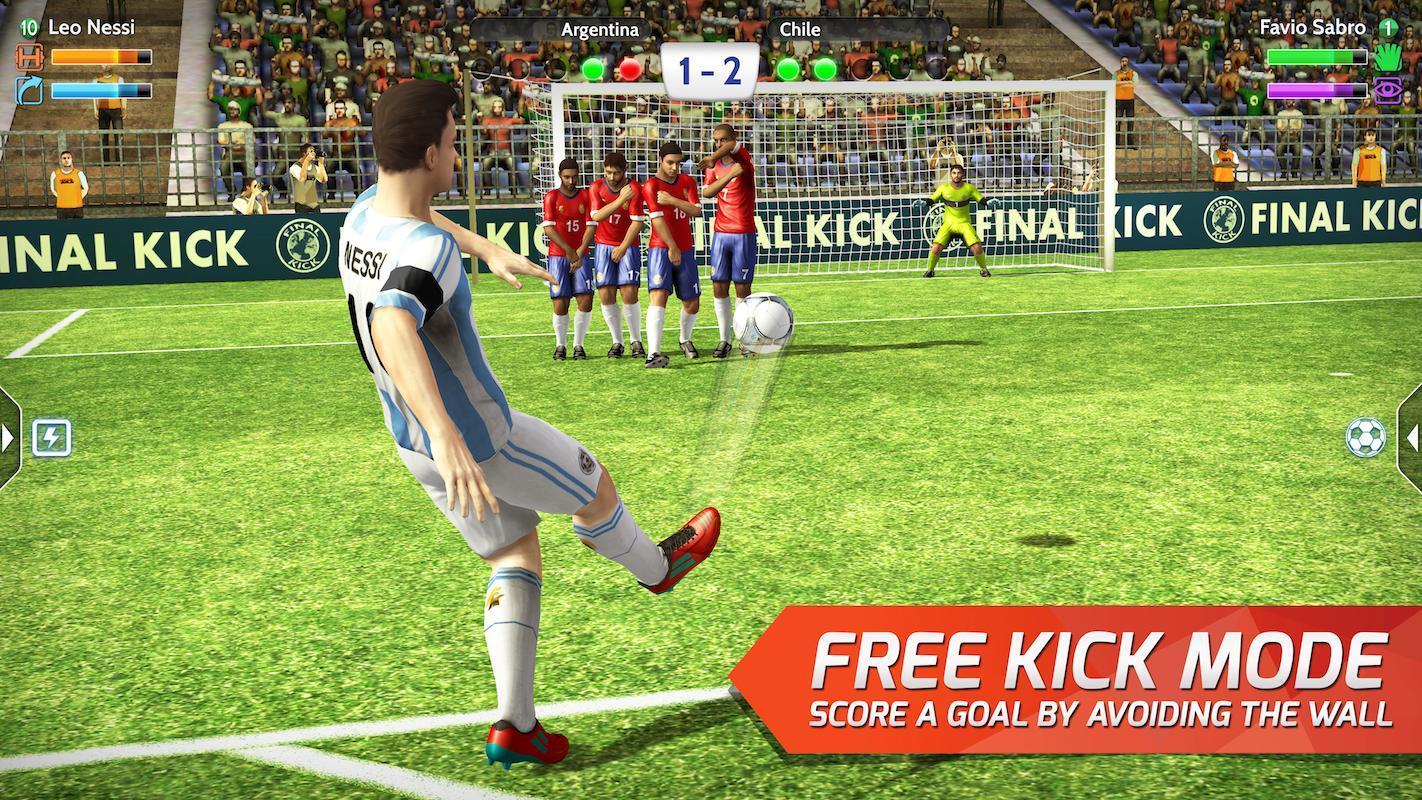 تحميل لعبة Final kick: Online Football للاندرويد