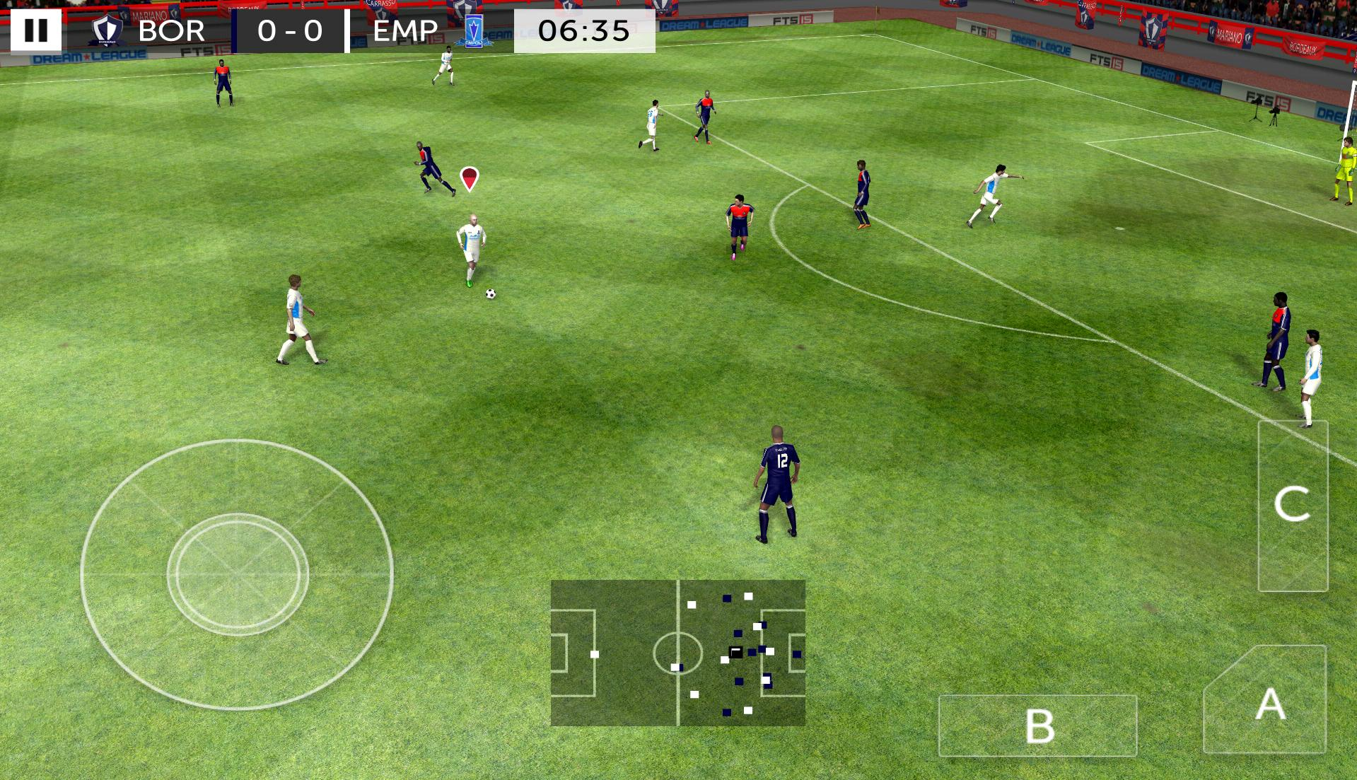 تحميل لعبة First Touch Soccer 2015 للاندرويد
