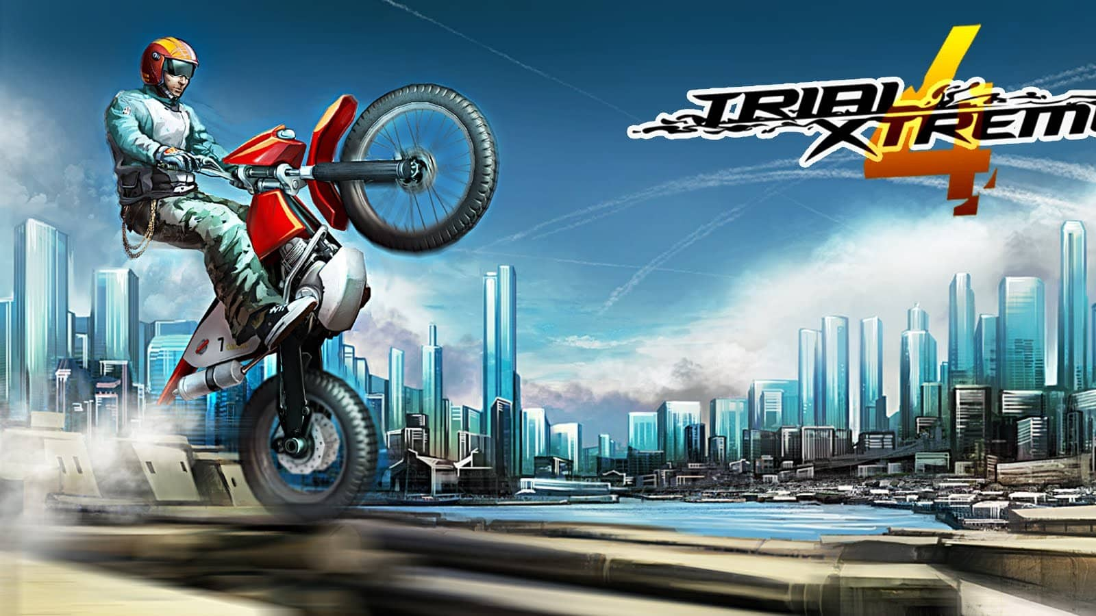 تحميل لعبة Trial Xtreme 4 للايفون