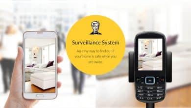 أفضل تطبيقات كاميرات المراقبة للهواتف